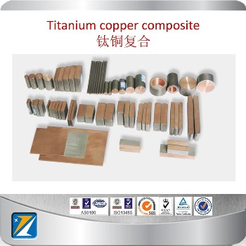 Ti-copper Clad Fasterners Titanium And Copper Alloy Manufacturer
