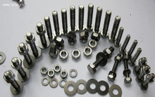Titanium Fasteners Hex Head Titanium Screw for Sale