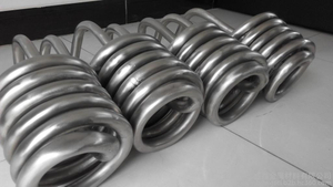 titanium winding path tubes for industral