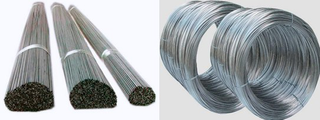 Straight and Coiled titanium wire GR1 OR GR2 titanium wire