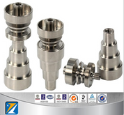 domeless sprial titanium nail 14&19 6 IN 1 ,with male and female joint