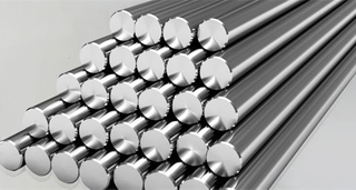 titanium bars and titanium rods ASTM B348 GR2 Straight round bars in Stock